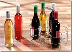 plastic wine bottles