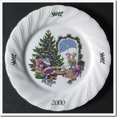 nikko_happy_holidays_2000_collector_plate