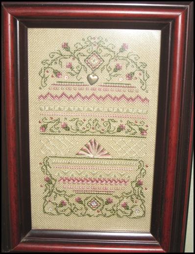 pink stitching
