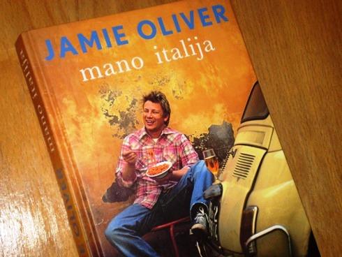 Jamie Oliver. Mano Italija