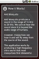 Screenshot of Anti Mosquito Sonic Repellent