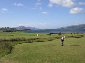 Golfen auf Skye