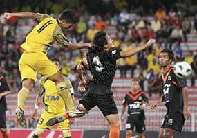 Perak tumpas kepada Johor FC sekaligus tersingkir