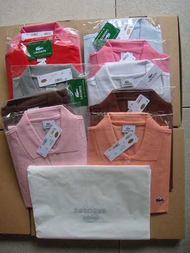 5 Pcs Authentic Lacoste Polo Free Shipping