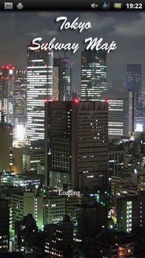 東京地下鉄マップ