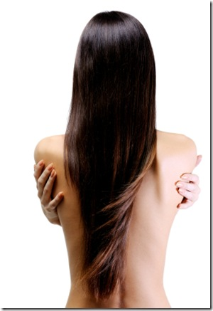 beautiful long straight hair