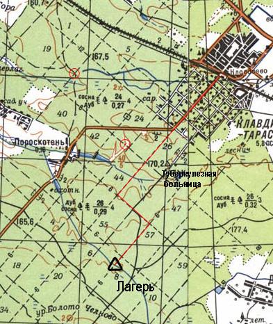 Карты генштаба: М-35-60
