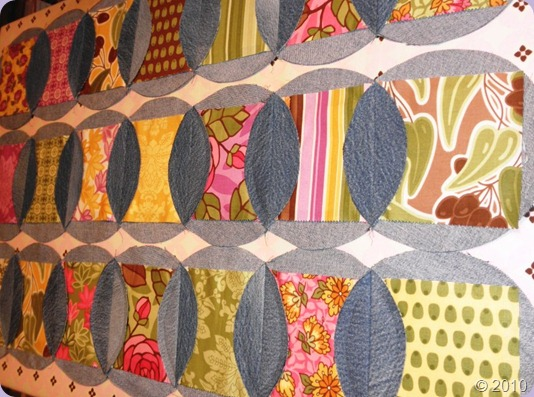 A Passionate Quilter: The Pattern continues…Denim Rag Quilt : denim circle rag quilt - Adamdwight.com