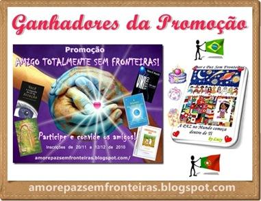 Ganhadores da Promoção de Aniversário do Blog 2010