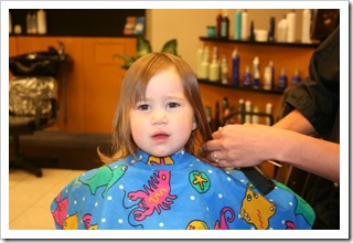 First Hair Cut 6.10.10