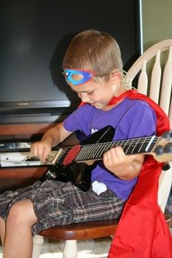 Superhero Rockstar