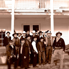 The Posse  by Vern Tunnell - People Street & Candids
