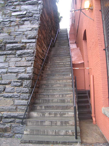 Excorcist Stairs Georgetown Washington DC