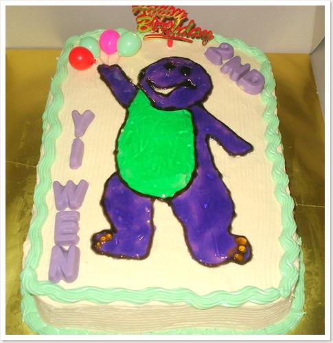 Barney Cake1