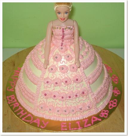 3D Doll Cake