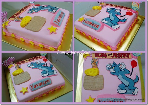 Zairie Homemade Delights Tom Jerry Cake
