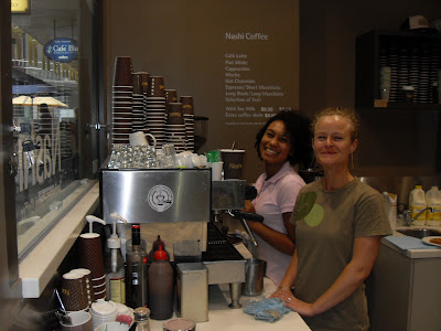 The guys from Nashi are great to be around and help us out with spent coffee grounds
