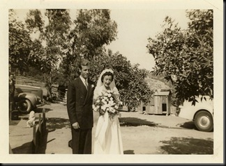 Grandma and Grandpa Wedding