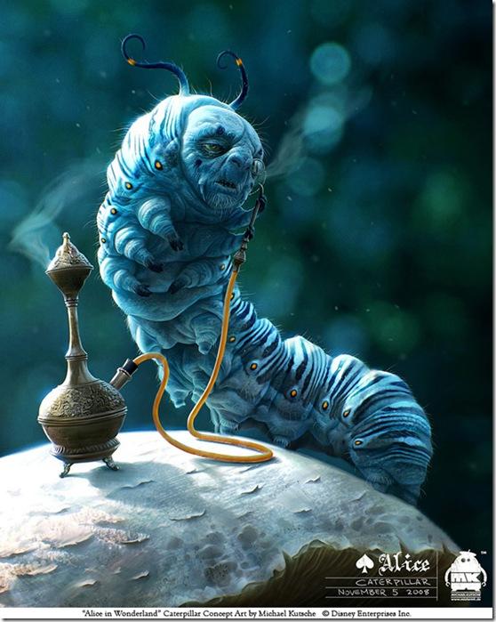 Alice___Caterpillar_by_michaelkutsche