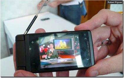 Celular com TV