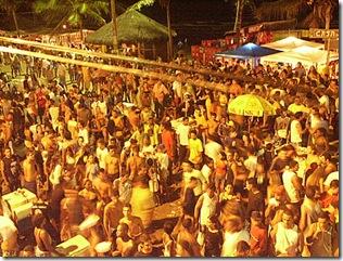 Carnaval de rua em Conceição da Barra
