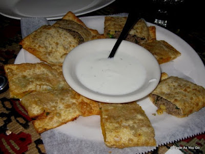 Appetizers at Afghan Kebab House #1 in New York, NY - Photo by Taste As You Go