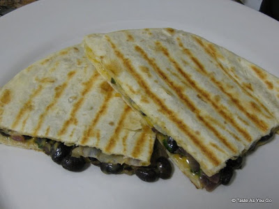 Black Bean Quesadillas - Photo by Taste As You Go
