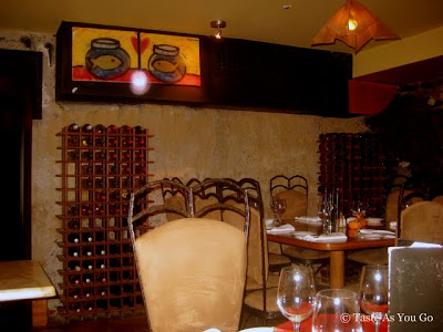 The Wine Cave at Swizz Restaurant & Wine Bar in New York, NY - Photo by Taste As You Go