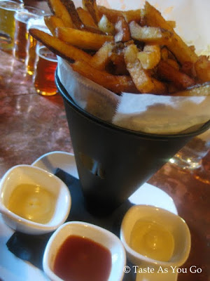 Pommes Frites at Tap and Table in Emmaus, PA - Photo by Taste As You Go