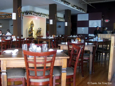 Interior of Bentara in New Haven, CT - Photo by Taste As You Go