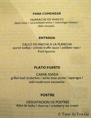 Mexico Tourism Board Press Dinner Tasting Menu at Maya New York in New York, NY - Photo by Taste As You Go