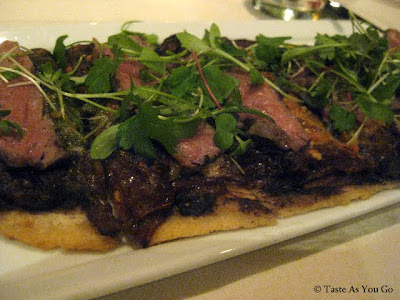 Huarache de Wagyu at Maya New York in New York, NY - Photo by Taste As You Go