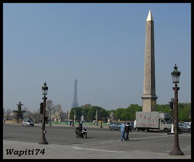 Une semaine printannière à Paris 4.Concorde