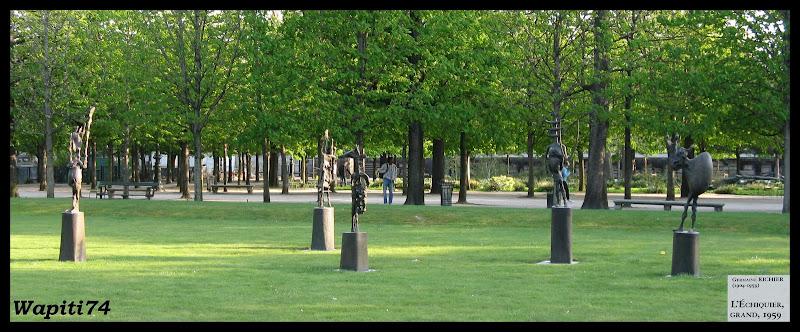 Une semaine printannière à Paris 17.Tuileries-Echiquier