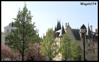 Une semaine printannière à Paris 37.Hotel-Sens