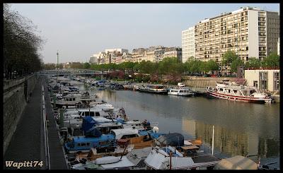Une semaine printannière à Paris 57.Port-Arsenal