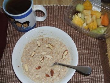 today breakfast