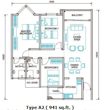 Selayang_Springs_(Floor_Plan_Type_A2)