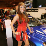yokohama staff at autosport show 2011