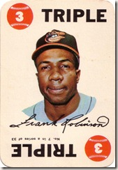 1968 Topps Robinson Game