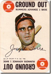 1968 Topps Torre Game