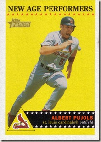 2003 Topps Heritage New Age Pujols