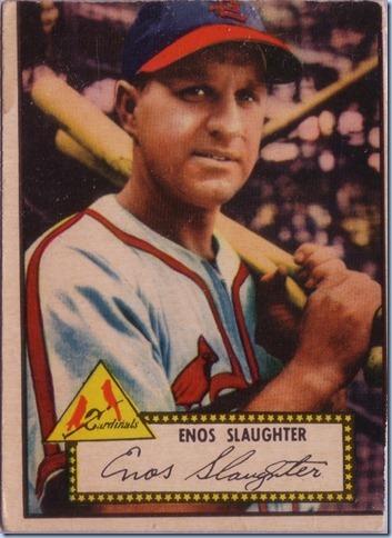 1952 Topps Slaughter