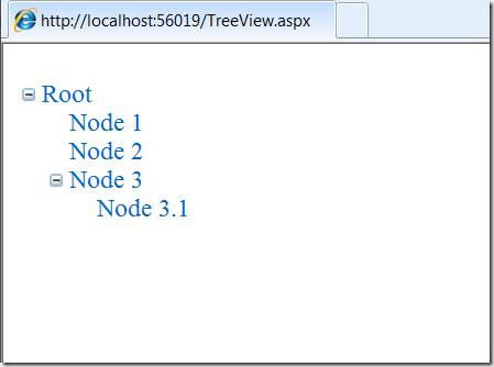 Скриншот: Результат выполнения декларативного биндинга к XmlDataSource
