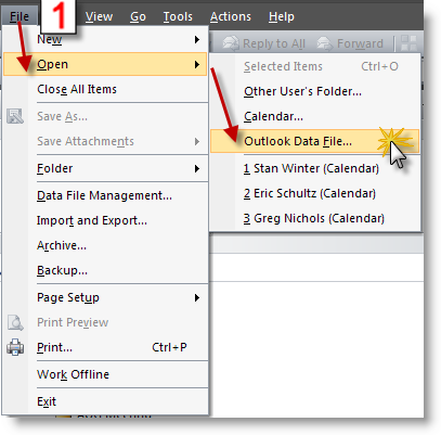 how to close outlook properly