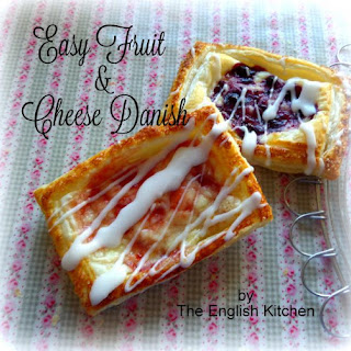 Easy Fruit & Cheese Danish