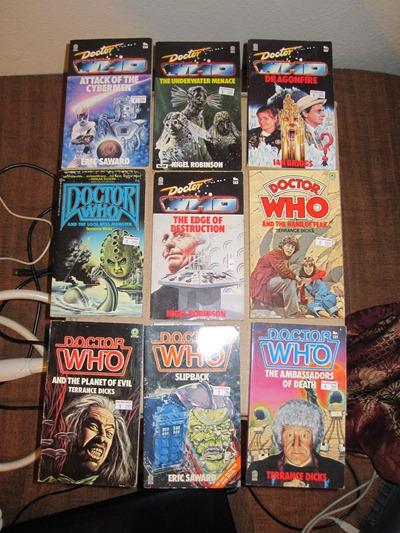 Doctor Who Novels