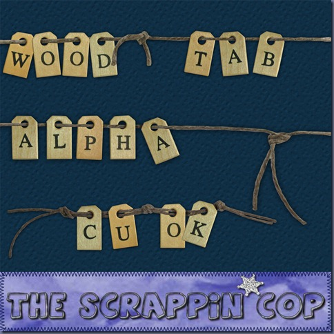 http://thescrappincop.blogspot.com/2009/11/cu-ok-wood-tab-alpha.html