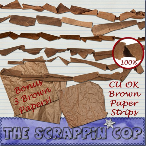 http://thescrappincop.blogspot.com/2009/12/cu-ok-brown-paper-strips-and-bonus.html