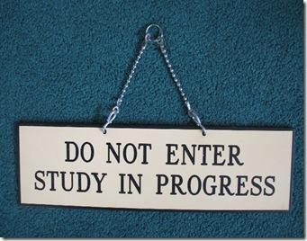 Study Sign